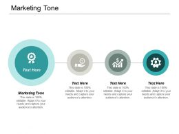 Marketing Tone Ppt Powerpoint Presentation Pictures Good Cpb