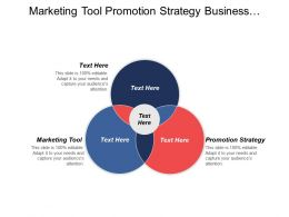 Marketing Tool Promotion Strategy Business Productivity Investment Techniques Cpb