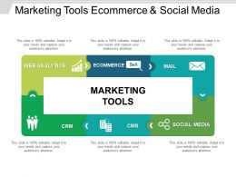 Marketing Tools Ecommerce And Social Media