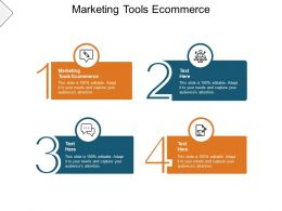 Marketing Tools Ecommerce Ppt Powerpoint Presentation Layouts Tips Cpb