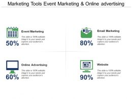 Marketing Tools Event Marketing And Online Advertising