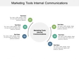 Marketing Tools Internal Communications Ppt Powerpoint Presentation Infographics Structure Cpb