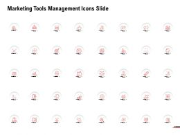 Marketing Tools Management Icons Slide Ppt Powerpoint Presentation File Graphics Template