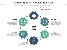 Marketing Tools Promote Business Ppt Powerpoint Presentation Gallery Styles Cpb