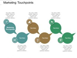 Marketing Touchpoints Ppt Powerpoint Presentation File Microsoft Cpb