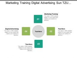 Marketing Training Digital Advertising Sun Tzu Marketing Products Marketing Cpb
