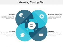 Marketing Training Plan Ppt Powerpoint Presentation Ideas Design Ideas Cpb