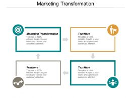 Marketing Transformation Ppt Powerpoint Presentation Layouts Picture Cpb