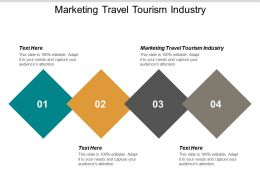 Marketing Travel Tourism Industry Ppt Powerpoint Presentation Styles Layout Ideas Cpb