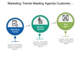 Marketing Trends Meeting Agenda Customer Satisfaction Survey Sales Cycle Cpb