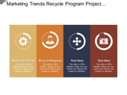 Marketing Trends Recycle Program Project Management Technology Sales
