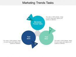 Marketing Trends Tasks Ppt Powerpoint Presentation Pictures Shapes Cpb