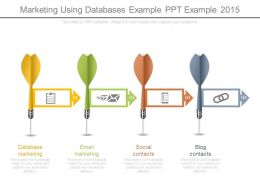 Marketing Using Databases Example Ppt Example 2015