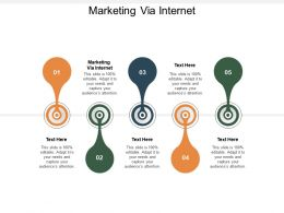 Marketing Via Internet Ppt Powerpoint Presentation Styles Example Introduction Cpb