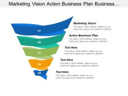 Marketing Vision Action Business Plan Business Marketing Tool Cpb