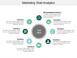 Marketing Web Analytics Ppt Powerpoint Presentation File Graphic Tips Cpb