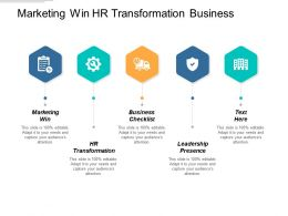 Marketing Win Hr Transformation Business Checklist Leadership Presence Cpb