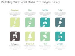 Marketing With Social Media Ppt Images Gallery