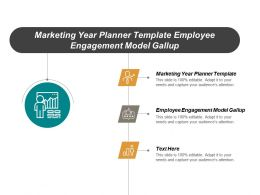 Marketing Year Planner Template Employee Engagement Model Gallup Cpb