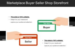 Marketplace Buyer Seller Shop Storefront