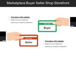 Marketplace Buyer Seller Shop Storefront