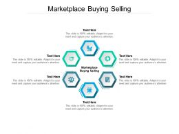 Marketplace Buying Selling Ppt Powerpoint Presentation Styles Slides Cpb
