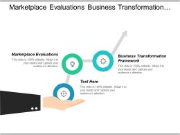 Marketplace Evaluations Business Transformation Framework Video Marketing Analytics Cpb