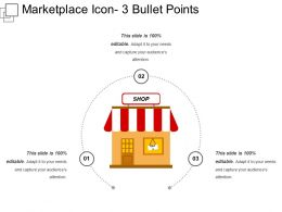 Marketplace Icon 3 Bullet Points