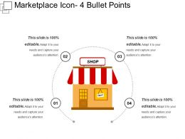 Marketplace Icon 4 Bullet Points