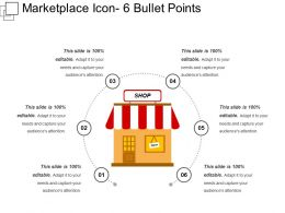 Marketplace Icon 6 Bullet Points