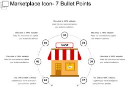 Marketplace Icon 7 Bullet Points