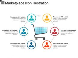 Marketplace Icon Illustration