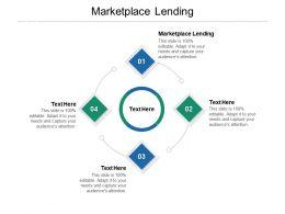 Marketplace Lending Ppt Powerpoint Presentation Inspiration Show Cpb