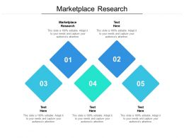 Marketplace Research Ppt Powerpoint Presentation Summary Elements Cpb