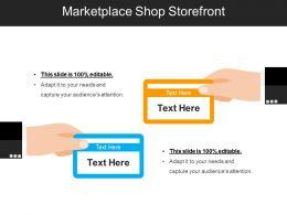 Marketplace Shop Storefront