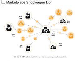 Marketplace Shopkeeper Icon