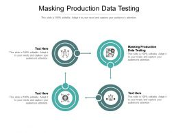 Masking Production Data Testing Ppt Powerpoint Presentation Show Graphic Tips Cpb