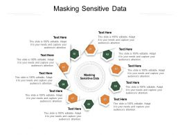 Masking Sensitive Data Ppt Powerpoint Presentation Styles Deck Cpb