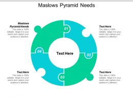 Maslows Pyramid Needs Ppt Powerpoint Presentation Layouts Smartart Cpb