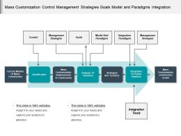 Mass Customization Control Management Strategies Goals Model And Paradigms Integration