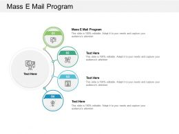 Mass E Mail Program Ppt Powerpoint Presentation Styles Templates Cpb