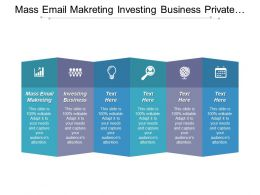 Mass Email Marketing Investing Business Private Equity Capital Cpb