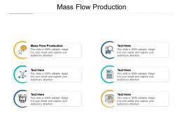 Mass Flow Production Ppt Powerpoint Presentation Portfolio Graphics Design Cpb