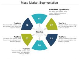 Mass Market Segmentation Ppt Powerpoint Presentation Layouts Shapes Cpb