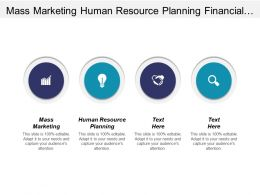 Mass Marketing Human Resource Planning Financial Planning Investment Cpb