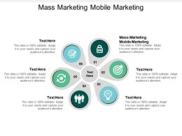 Mass Marketing Mobile Marketing Ppt Powerpoint Presentation Styles Layout Ideas Cpb