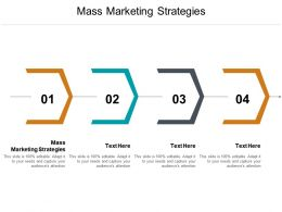 Mass Marketing Strategies Ppt Powerpoint Presentation Portfolio Topics Cpb