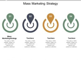 Mass Marketing Strategy Ppt Powerpoint Presentation Icon Format Ideas Cpb