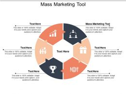 Mass Marketing Tool Ppt Powerpoint Presentation Gallery Outline Cpb