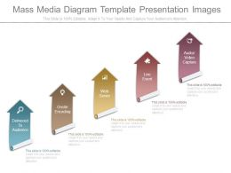 Mass Media Diagram Template Presentation Images